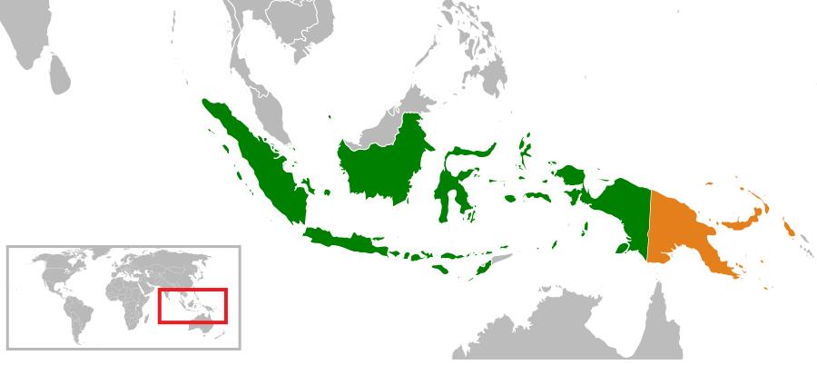 граница индонезии папуа новая гвинея